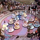 Disneyland Teacup Ride - Anaheim, CA