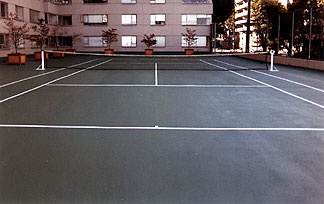 Rooftop Sports Court - Hong Kong