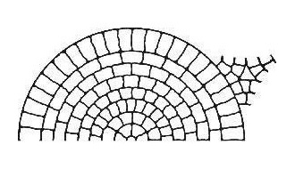 SP2: Half-Rounded Cobblestone